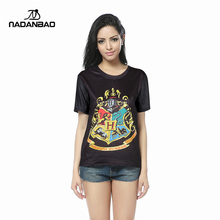 New Fashion Print Harry potter Shirts Popular Summer Funny Clothes Unisex Woman Tops T-shirt DSS1007
