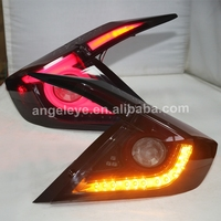 For HONDA Civic LED Tail Lamp 2016 Year Red Black Color LF