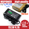 MDPOWER For SONY VIAO VGN-CR31/P CR31/W CR322H Notebook laptop power supply power AC adapter charger cord 19.5V 4.7A