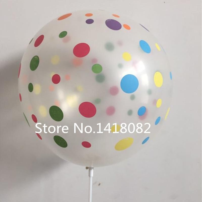 Globo de impresión transparente 50 unidades / lote 12 pulgadas 2.8 g - Para fiestas y celebraciones - foto 1