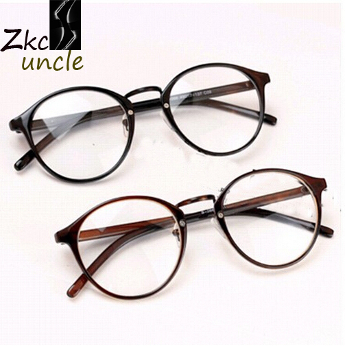 vintage glasses men 2015 big brand frames retro man Women eyeglasses ...