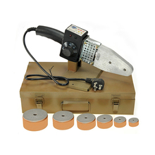 """600-800 Вт AC220V 20-63 мм """" PPR ПВХ ПБ ПЭ водопровод контроль температуры термосварки расплава разъем для машины сварочный аппарат"""