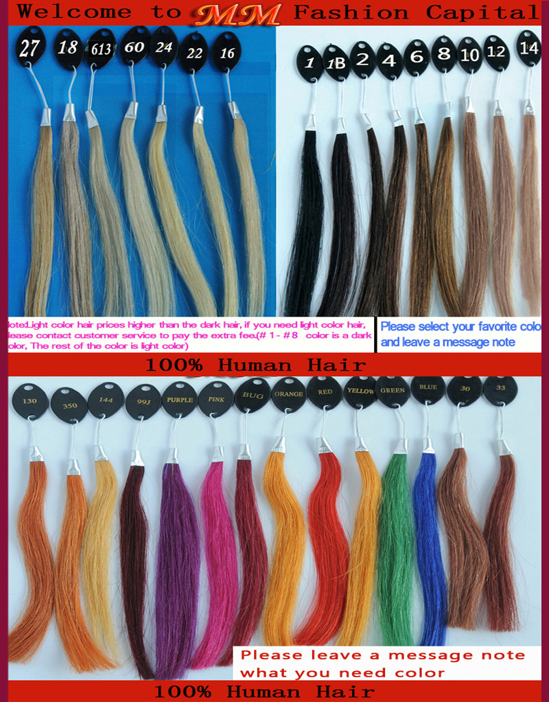 Get Ations 25 Strands 24 Inch Pre Bonded Remy Nail Tip Hair Extensions Black 1