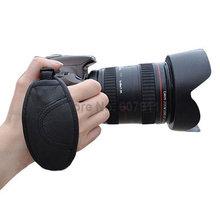 En cuir Poignée Sangle dragonne pour Nikon D850 D800 D810 D500 D5 D4S D5000 D5100 D7000 D90 D3200 D3100 D5200 DSLR appareil photo REFLEX