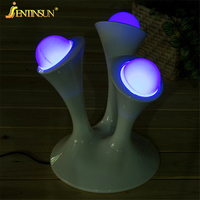 7 Color Changing Night Light Glowing Balls Creative LED Lamps Mushroom Style Table Lamp Night Lamps