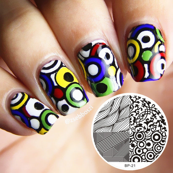 Online Shop BORN PRETTY 2 Pcs Cute Owls Nail Art Stamping Template ...