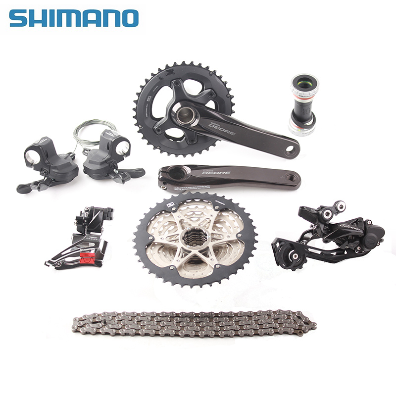 Original SHIMANO DEORE M6000 2x10s Speed 11-42T MTB Mountain Bike Accessories Bicycle Groupset Shifter/Derailleur/Crankset shimano deorext fd m780 m781 front transmission mtb bike mountain bike parts 3x10s 30s speed