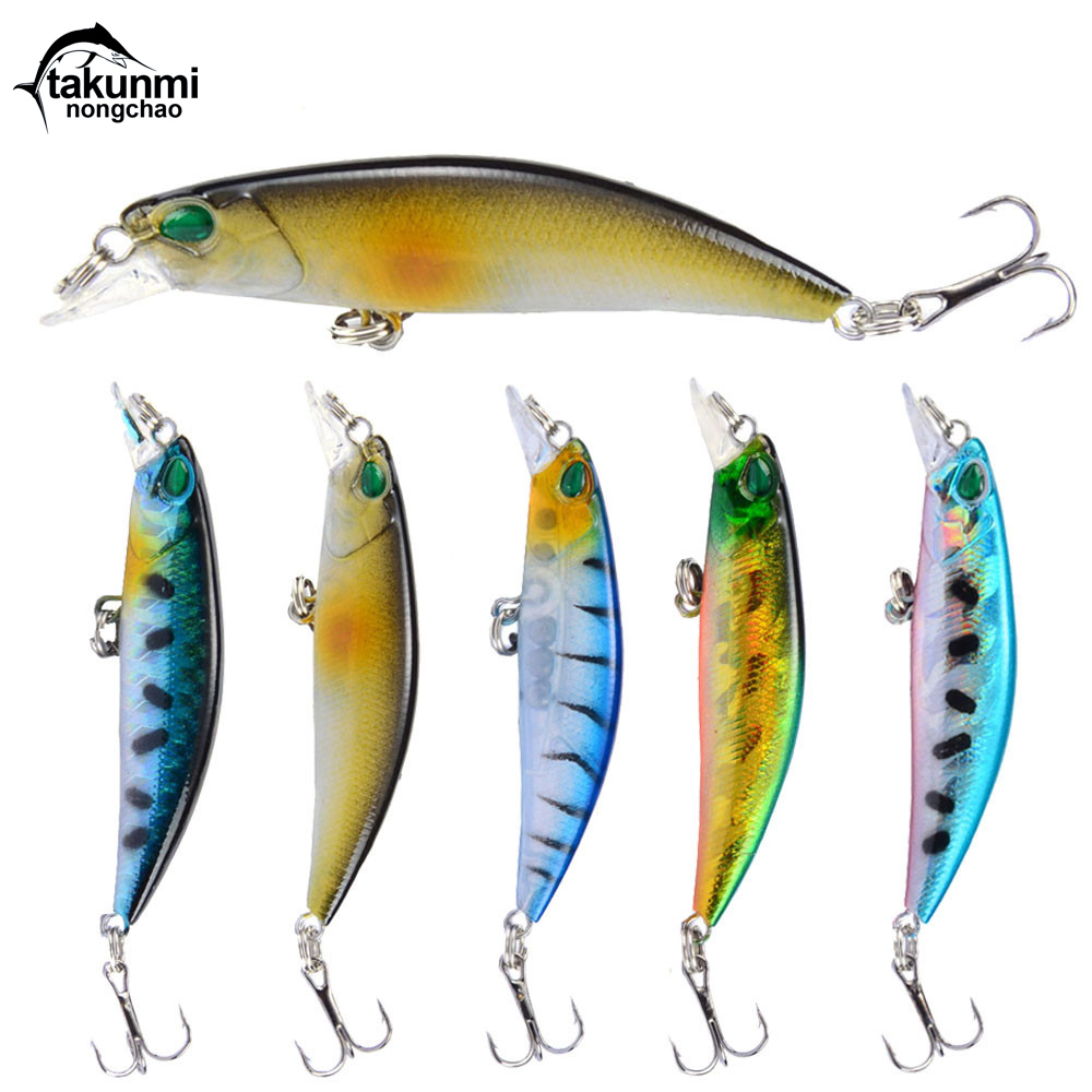 2018 New Fishing Lures,Minnow Crank 6.5cm 4.2g.Artificial Japan Hard Bait Wobbler Swimbait Hot Model Crank Bait 5 Colors WS-86 1pcs 29g 16 5cm minnow fishing lures japan deepswim saltwater hard bait 3d eyes plastic crank bait swimbait sinking wobbler
