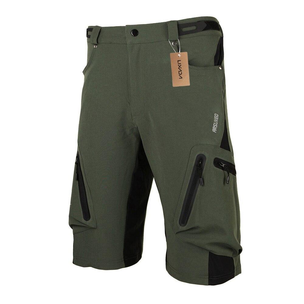 Verão calções de ciclismo dos homens respirável solto esportes ao ar livre mtb equitação estrada mountain bike calças curtas ciclismo shorts