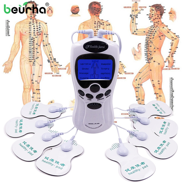 Health Massage Massager Electrical Relaxation Machine Digital Therapeutic Acupuncture Pain Relief Massager Back Neck Body Leg