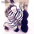 35CM Kawaii Jungle Zebra Plush Toys Stuffed Animals Fluffy Giraffe Dolls Soft Kids Cartoon Toys Children Birthday Gift
