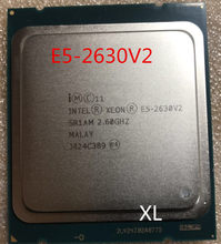 Intel Xeon CPU E5-2630V2 SR1AM 2.6GHz 6-Core 15M LGA2011 E5 2630V2 processor E5 2630 V2 2630V2(China)