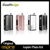 100 Original Aspire Plato Kit With BVC 1 8ohm Kan Clapton 0 4ohm Coil All In