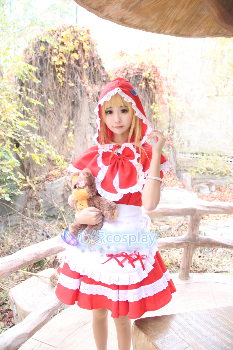 hot sell lol game Annie Lolita dress Halloween cosplay costume for girls women high qualtity Customized made