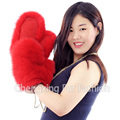 CX-A-67C Factory Direct Sale Ladies Luxury Real Fox Fur Gloves for Winter