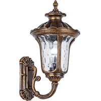 Ретро Крытый настенный светильник e27 алюминиевый стеклянный материал наружный настенный светильник винтажный светодиодный светильник для