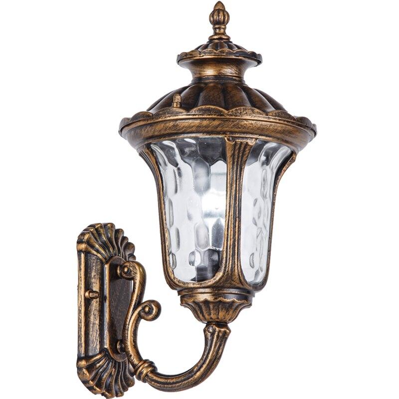 Ретро Крытый настенный светильник e27 алюминиевый стеклянный материал настенный светильник винтажный светодиодный светильник лестницы све
