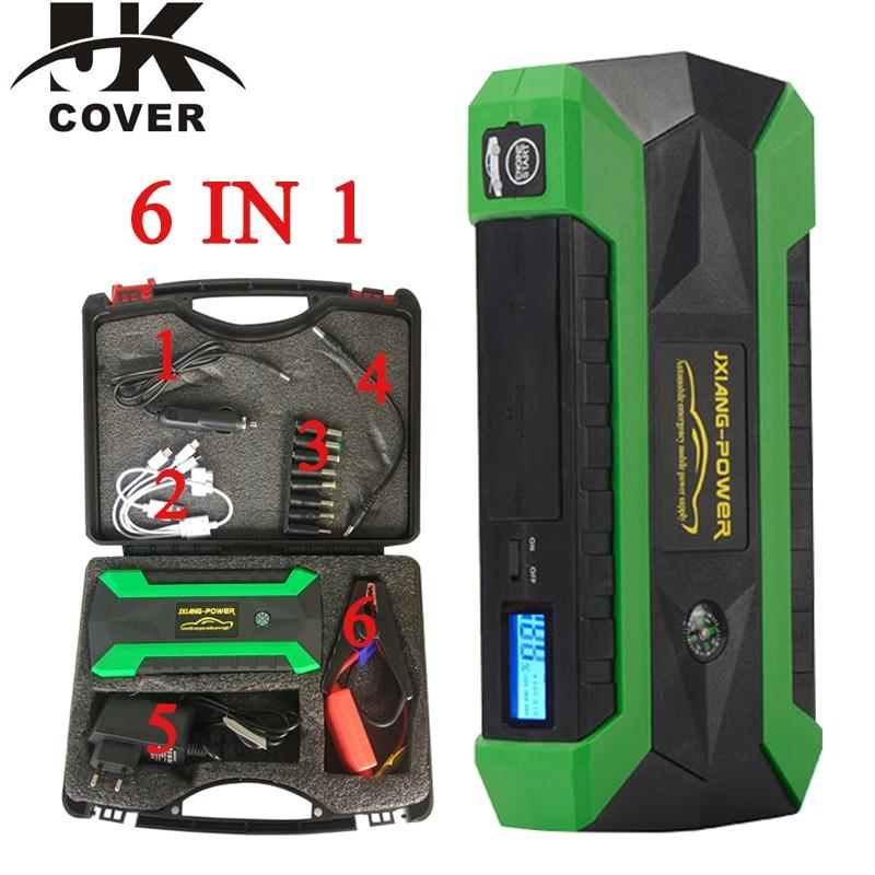 JKCOVER Jump Starter 12V Portable Starter Power Bank 800A Car Charger Car Battery Booster Buster Diesel