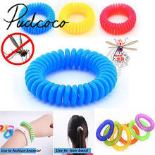 Helen115 Anti Mosquito Insect Repellent Wrist Hair Band Bracelet Camping Outdoor 1pcs(China)