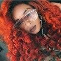 2017 Mulheres vidros transparentes óculos de Sol de Marca de Luxo Senhoras Uma Peça Óculos de Sol Dos Homens de Tamanho Grande Sexy Shades Óculos de Sol Lunette