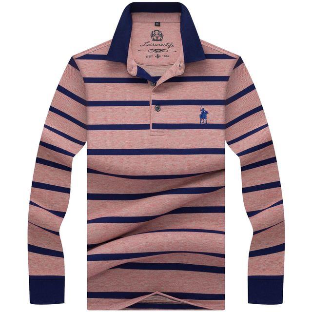 4a3a7fe849 Nova marca Camisas Dos Homens do Polo 2018 cavalo de Luxo bordado Camisa  Masculina Respirável Macio