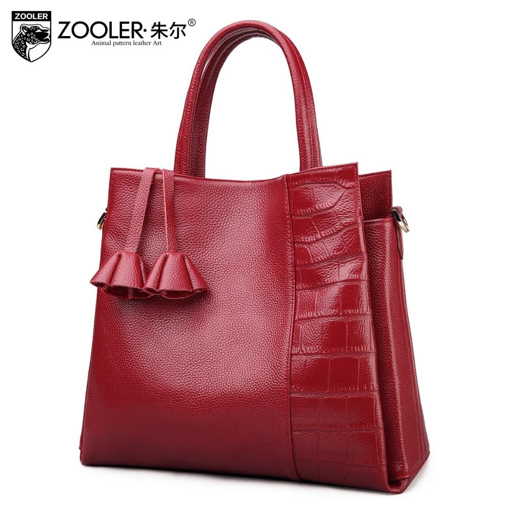 ZOOLER bags handbags women famous brands travel bag OL stylish genuine leather bag handbag Vintage bolsa feminina#926 graco contour electra bear trail