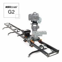 G2 2 axis Panoramisch focus timelapse dolly track gemotoriseerde video slider dslr camera slider voor canon sony voor digitale camers