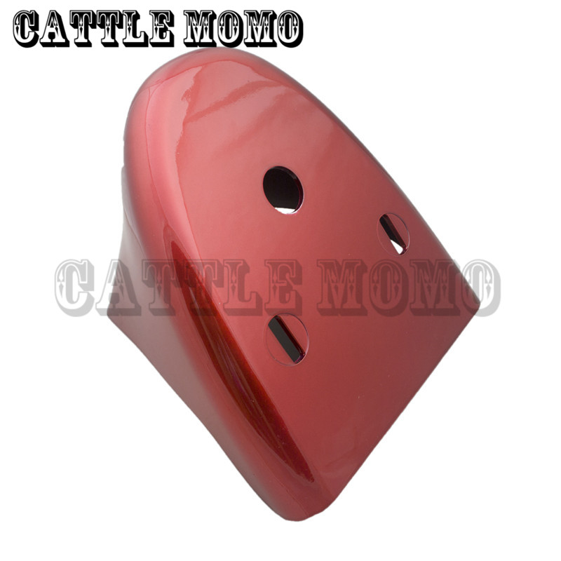 ФОТО Bright Red Motorcycle Front Bottom Spoiler Mudguard Fender Cover For Harley Sportster 1200 XL Iron 883 2004-2006 2007 2008-2014