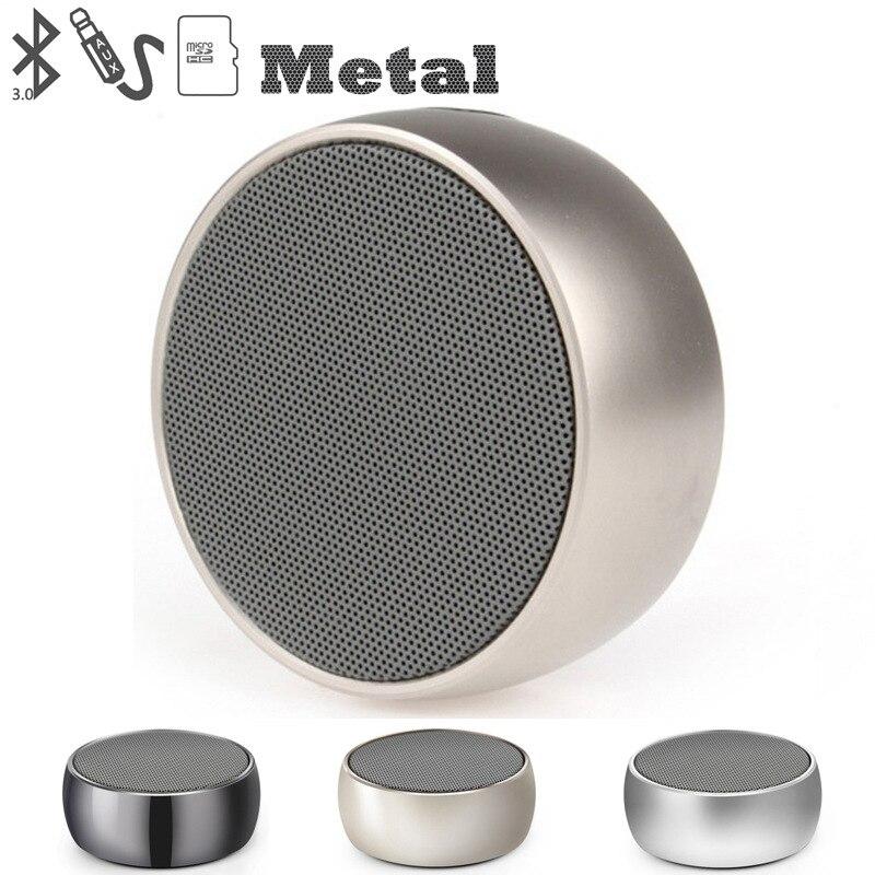TEAL Super Bass Sireless Bluetooth Högtalare Mini Metallic Portabel - Bärbar ljud och video