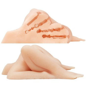 Double Ass Vaginareal Silicone Sex Dolls Male Masturbatorfake Ass Sex Toy Pussy Big Ass Sex Toys For Menreal Silicone Vagina