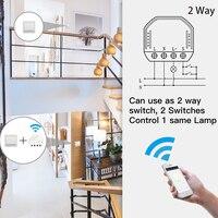 DIY Smart WiFi Light LED Dimmer Switch Smart Life/Tuya APP Remote Control 1/2 Way Switch,Works with Alexa Echo Google Home