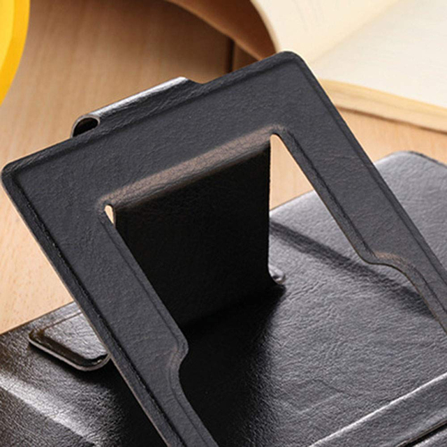 8 Inch 3D Phone Screen Magnifier Stereoscopic Amplifying Desktop Leather Bracket Mobile Holder Stand