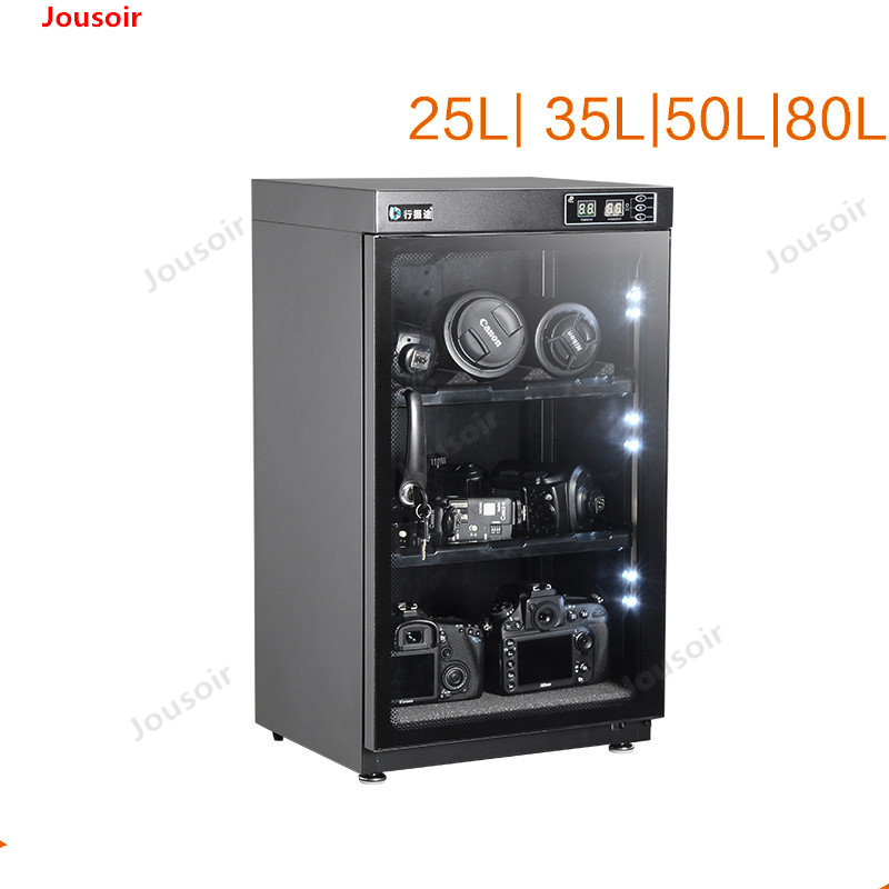 Câmera SLR umidade Eletrônico-lente caixa à prova de equipamento fotográfico moisture-proof gabinete caixa de Armazenamento caixa de vedação CD50 T03
