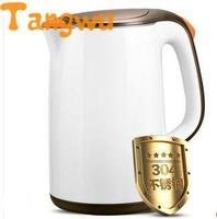 Envío Gratis hervidor de agua eléctrico con doble aislamiento y calentador de agua de acero inoxidable heater 12v kettle machine kettle pink -