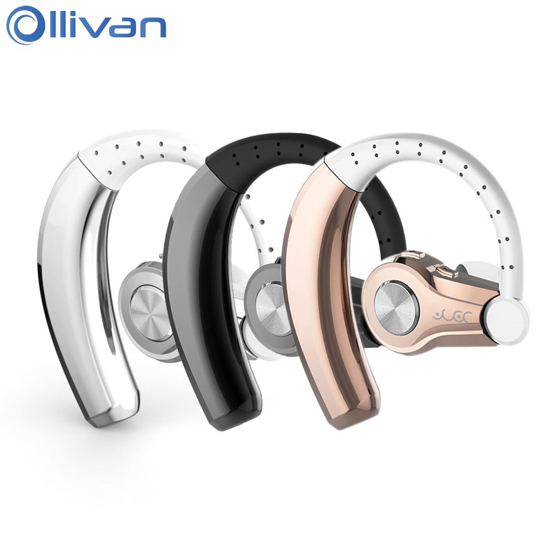 Ollivan T9 Bluetooth Headset Stereo Wireless Earphone Ear Hook Earbud With Microphone Hansfree Sports Business Auriculares