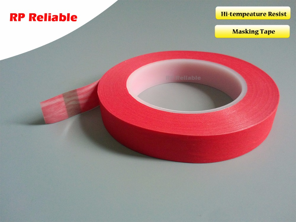 1x 50mm*33M *0.25mm PET Mix Paper Adhesive Shielding Tape for PCB Sodlering Wave /Static /Automobile Coating Masking, No residue l ecume des jours