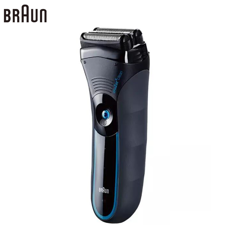 Braun Electric Shavers Razor cruZer6 Safety rechargeable Shaving Razor for Men Washable Reciprocating with Trimmer 100-240v braun electric shavers 5030s rechargeable reciprocating blades high quality shaving safety razors for men