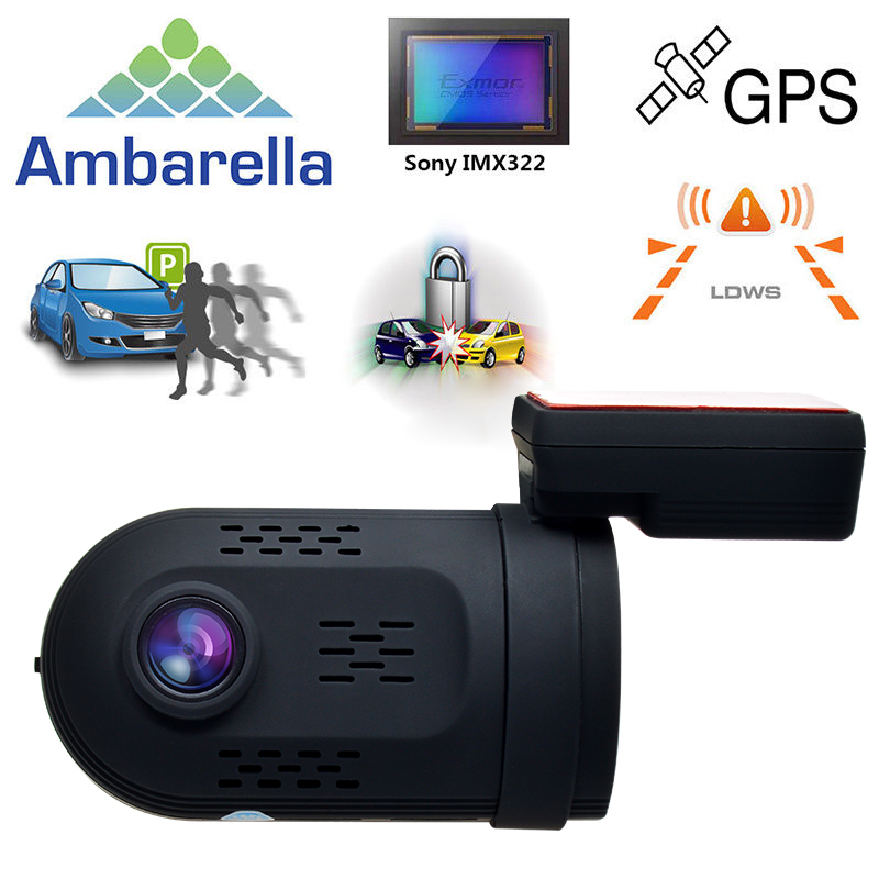 1 5 1296p ambarella a7la50 mini 0807 160 degree wide angle hidden car dvr vehicle dashcam video. Black Bedroom Furniture Sets. Home Design Ideas