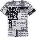 HD-DST new men's fashion charm cotton t shirt casual slim 3 D printing male sweatshirts