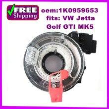 OEM 1K0959653 1K0 959 653 Часовая Пружина Подушка Безопасности Спиральный Кабель Sub-сборе рулевого Колеса Волосок Для VW Jetta Golf Для GTI MK5