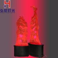 2 шт. пламени мерцающего светодиодный светильник 36 шт. 10 мм моделирование огонь, горящий светодиодный открытый декоративный праздник Рождес