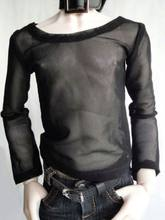[Wamami] 06 # Schwarz Fishnet T-Shirt 1/3 SD DOD BJD Dollfie(China)