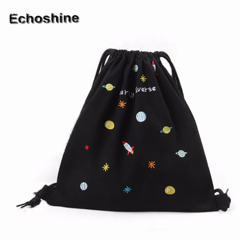 2016 Women Backpack font b Bags b font Women Drawstring Beam Port Backpack font b Shopping