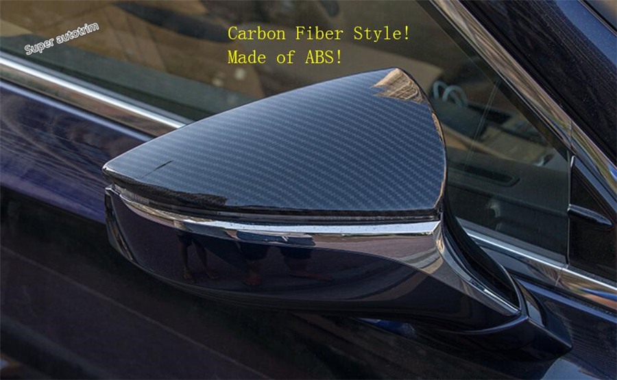 Lapetus Side Door Rearview Mirror Protection Cover Accessories Exterior Trim 2 Pcs ABS Fit For Lexus ES 2018 2019 in Chromium Styling from Automobiles Motorcycles