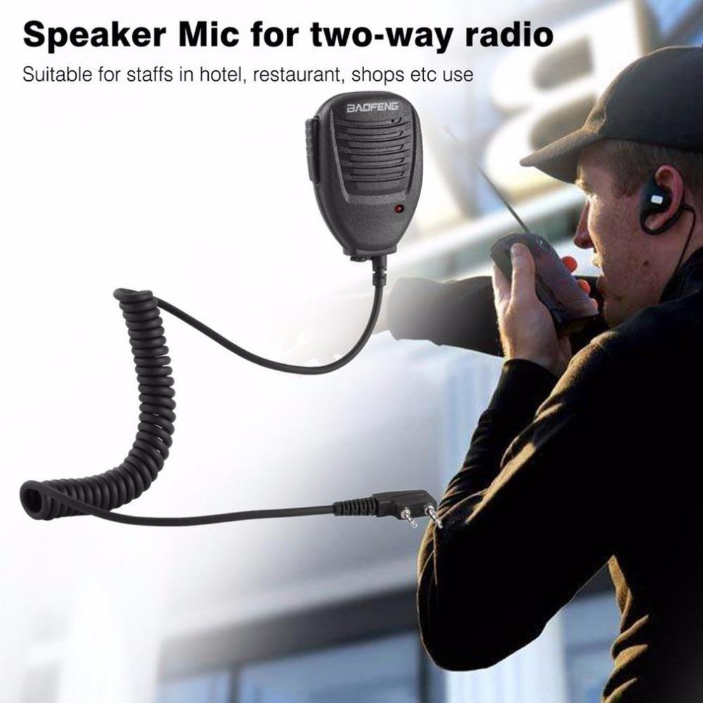 Original Walkie Talkies Toy With Speaker Microphone  888S 5R UV82 8D 5RE 5RA Speaker Mic Headset Two Way Radio