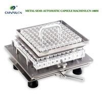 CapsulCN 100M Semi Automatic Capsule Filling Machine Size 000 Capsule Filling Machines Suit For Joined Capsule