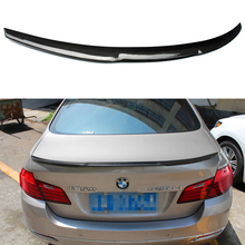 M4 Style F10 M5 Carbon Fiber Car Rear Body kit Trunk lip Spoiler Wing For BMW F10 M5 2010-2016
