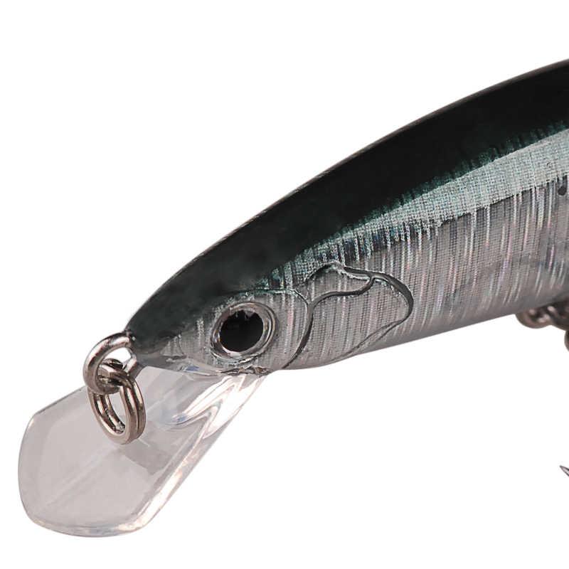 Inteligentna twarda przynęta 65mm 5g przynęty chiny przynęta żywiec VMC hak Iscas Artificiais Para Pesca wędkarskiego Wobbler Luis Vuiton