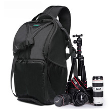 New Outdoor SLR DSLR Camera Backpack Professional Waterproof Camera Bag Large Capacity For Camera Lens and Tripod.