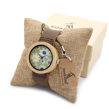 3.7 cm Femmes Dames Montre-Bracelet Marque Bambou Montre pour les Femmes Bracelet Montre À Quartz Femmes de Montres En Bois montre femme horloge